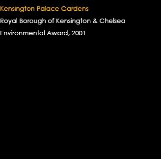 Kensington Palace Gardens Environmental Award