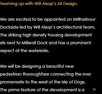 Teaming up with Will Alsop's All Design